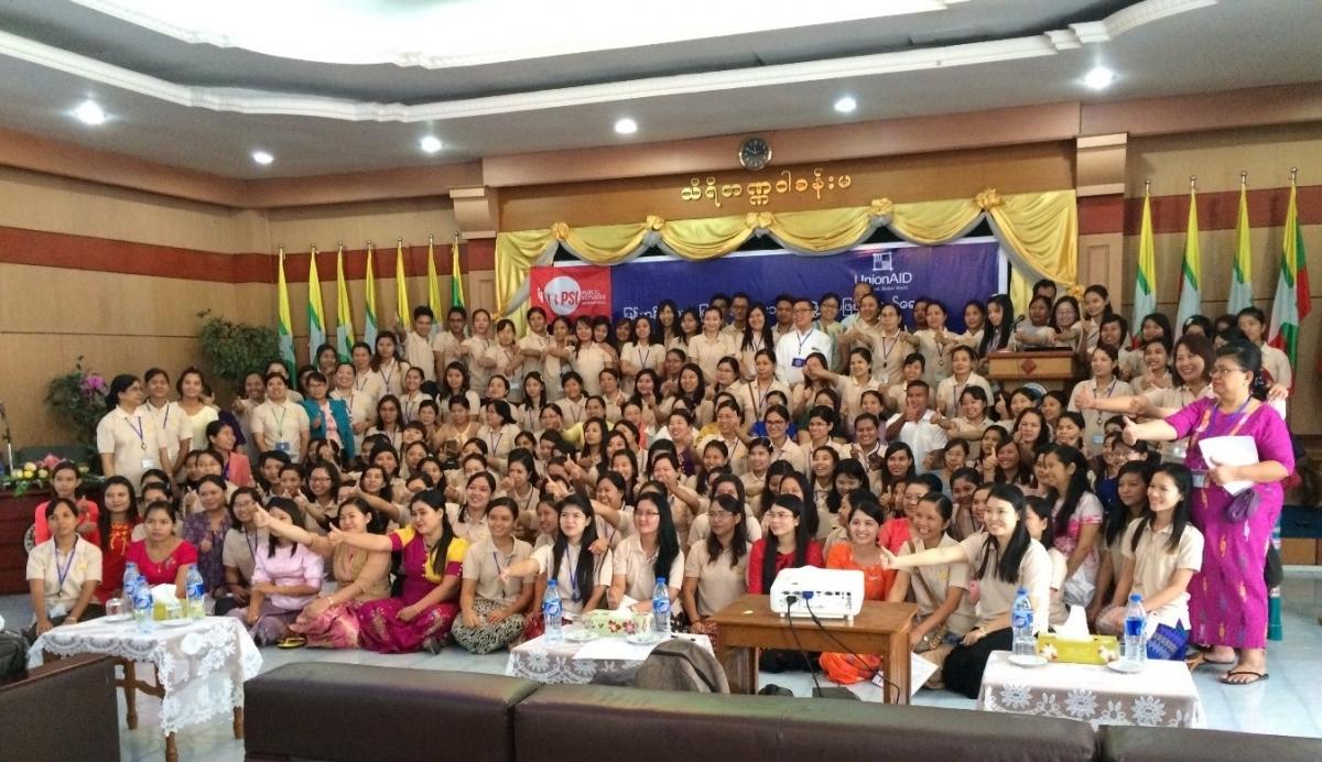 Nurses Myanmar
