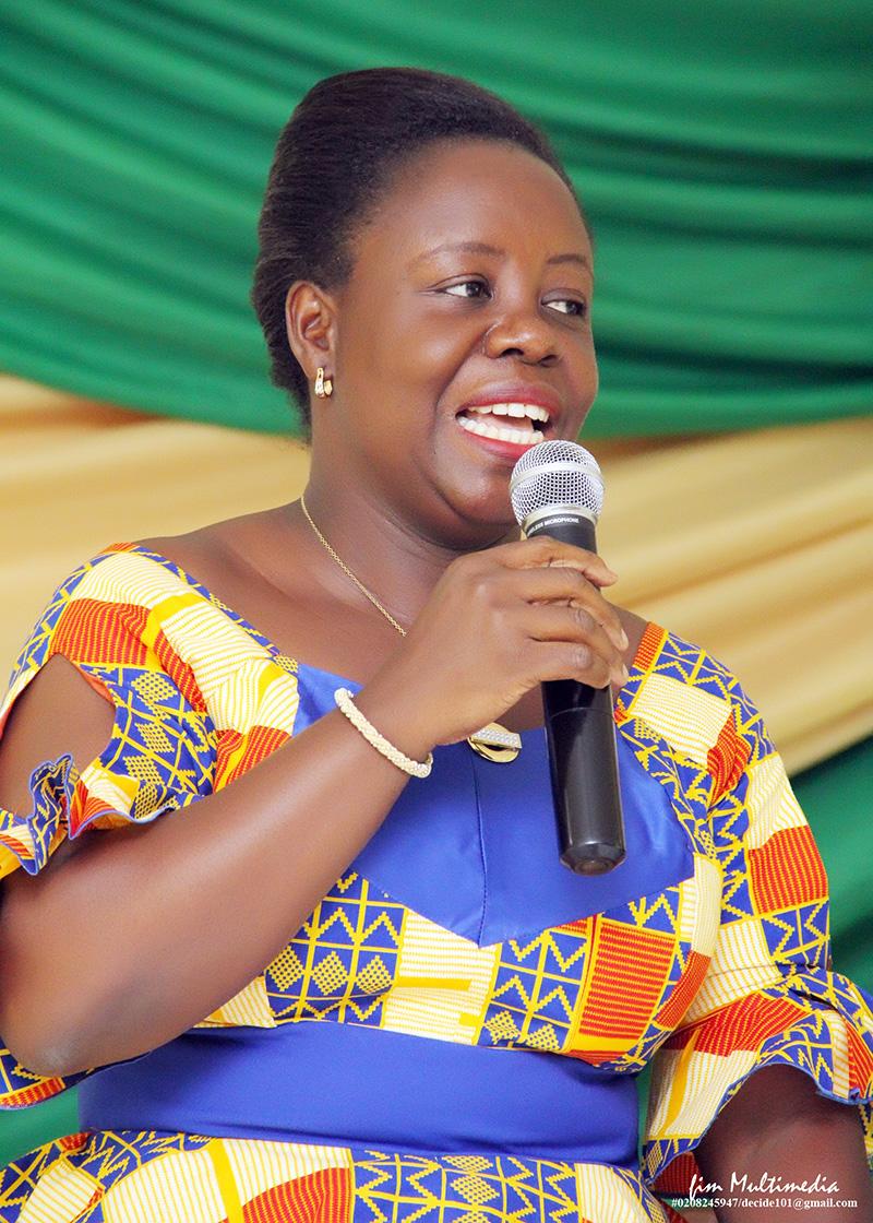 Perpetual Ofori Ampofo NCC secretary