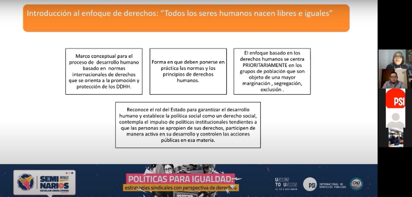 Parte de la presentación de María Fernanda Villegas