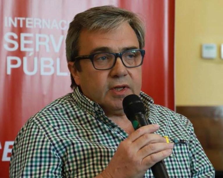 Federico Dávila, subsecretario de Relaciones Internacionales de UPCN y copresidente de la ISP Interaméricas