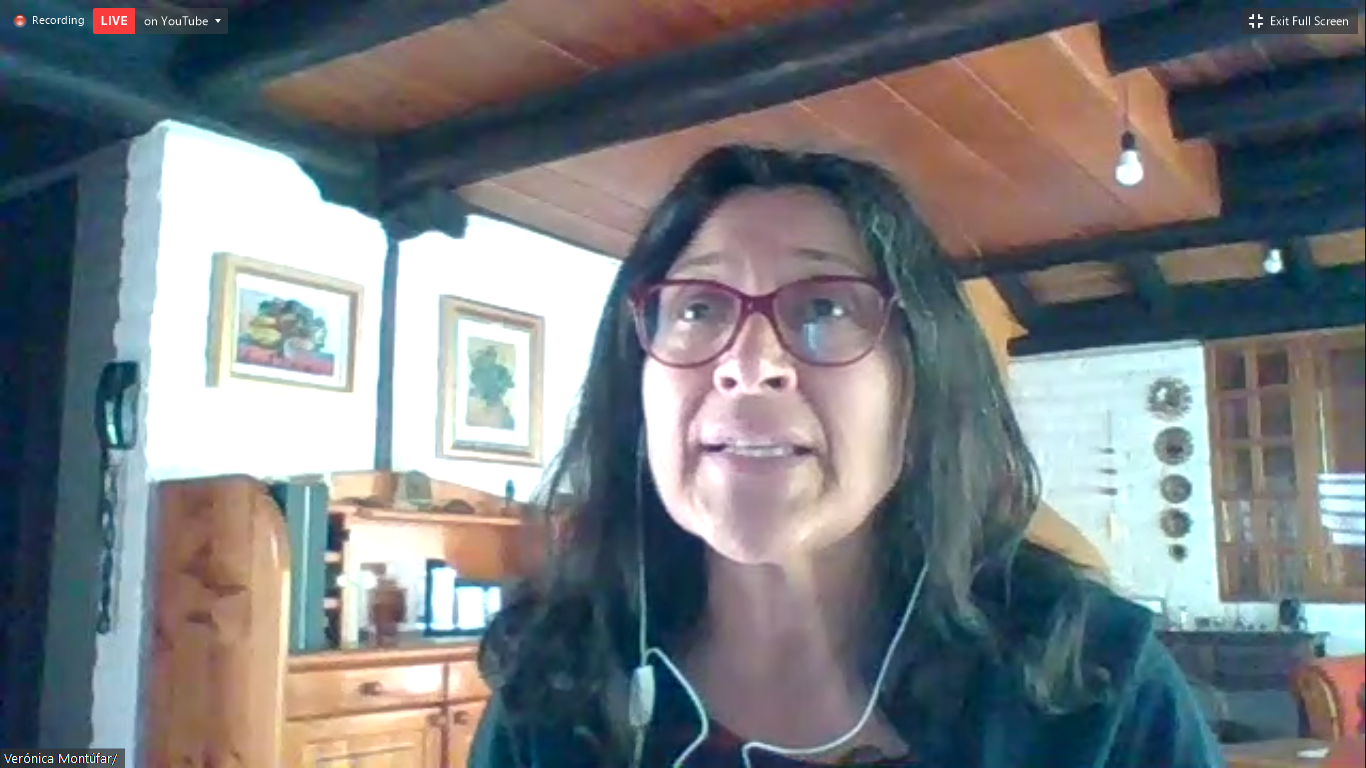 Verónica Montúfar, la Responsable mundial de género de la ISP