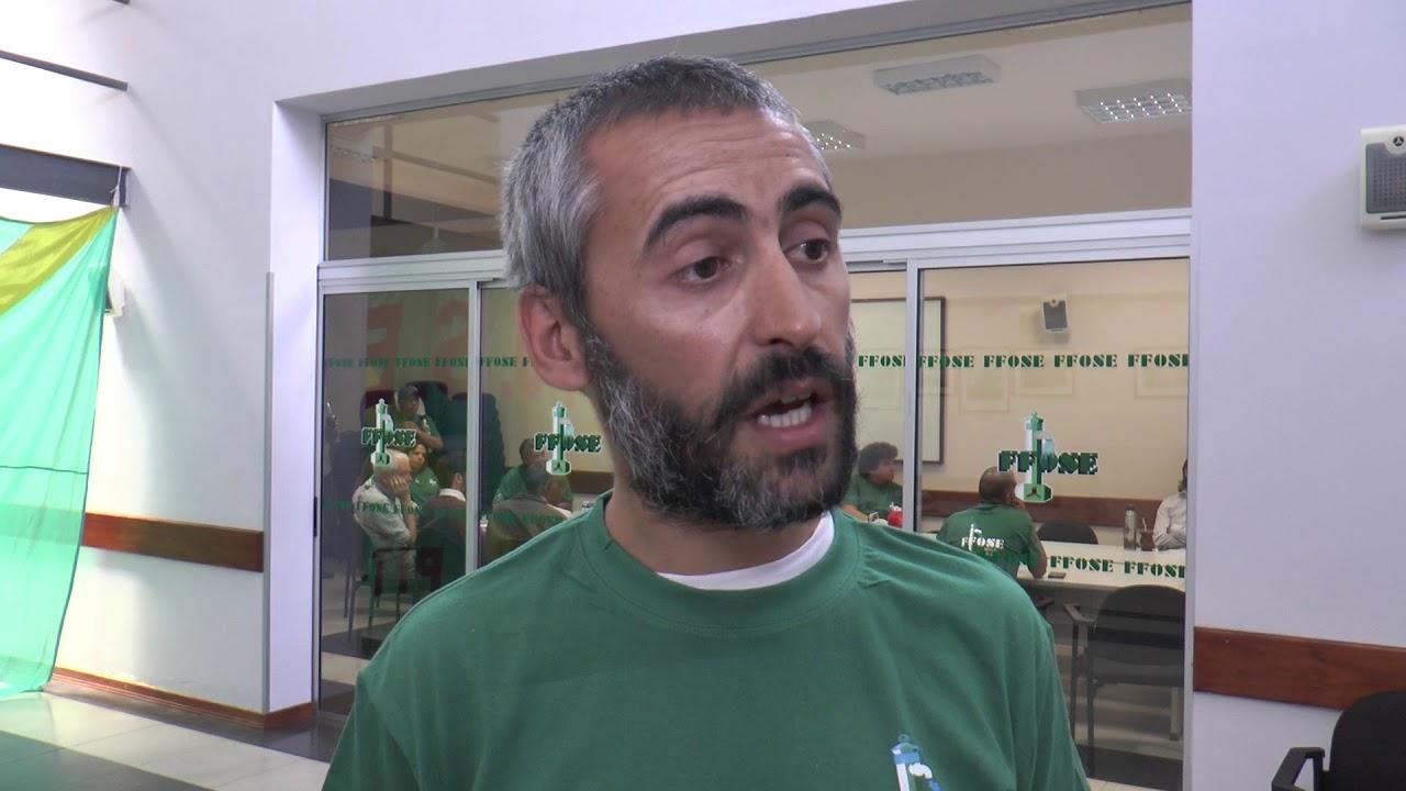 Nicolás Ferreira, secretario general de FFOSE