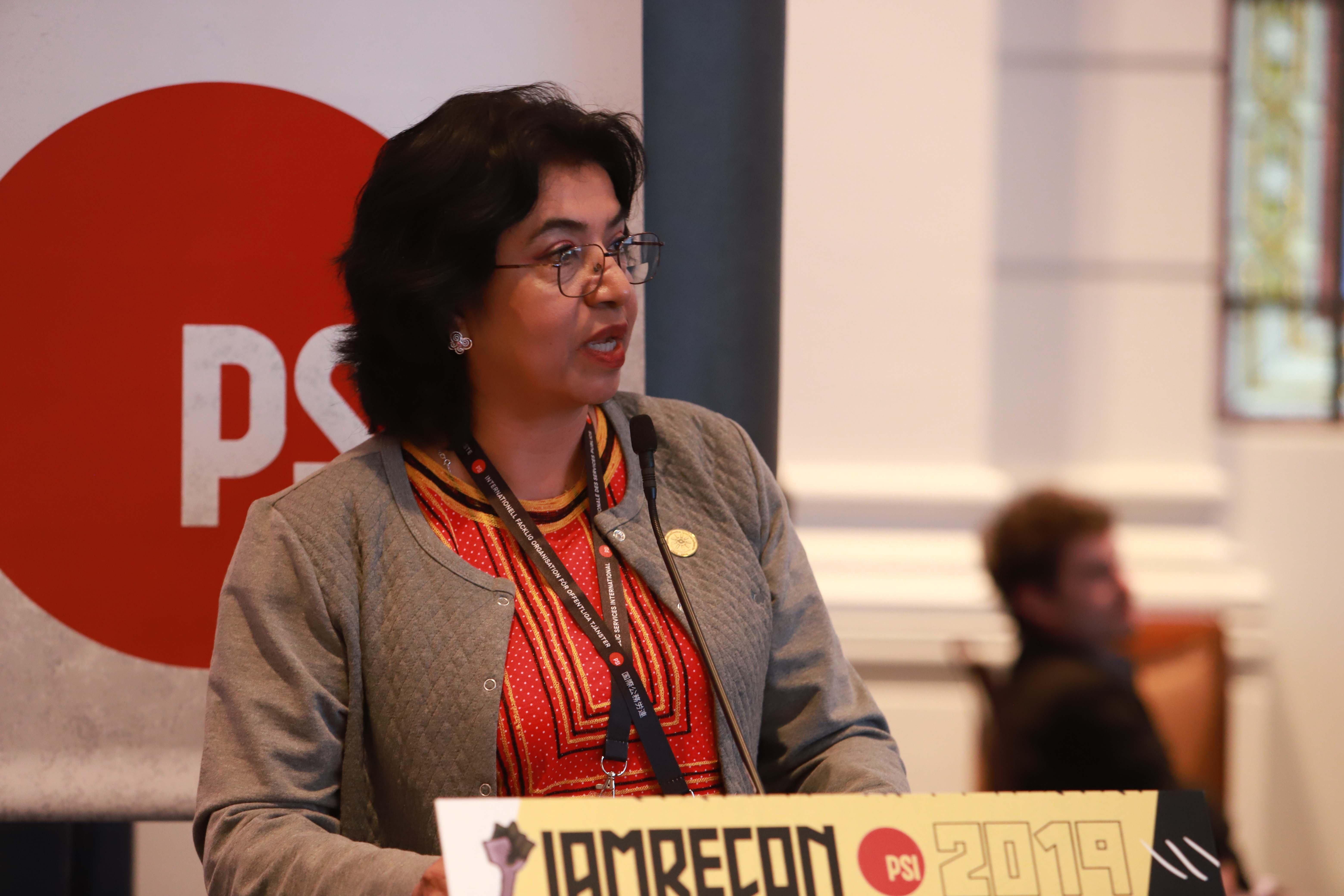 María Lourdes Zea. Photo: Carlos Verdugo