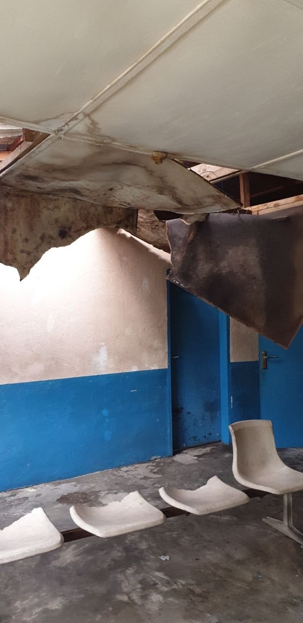 Photo of Liberian Health Clinic. Underfunding is rife in the Health Sector: (Credit: Public Services International, Creative Commons)